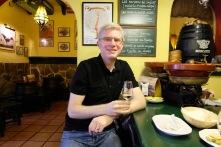 Enjoying sherry at Sanlúcar
