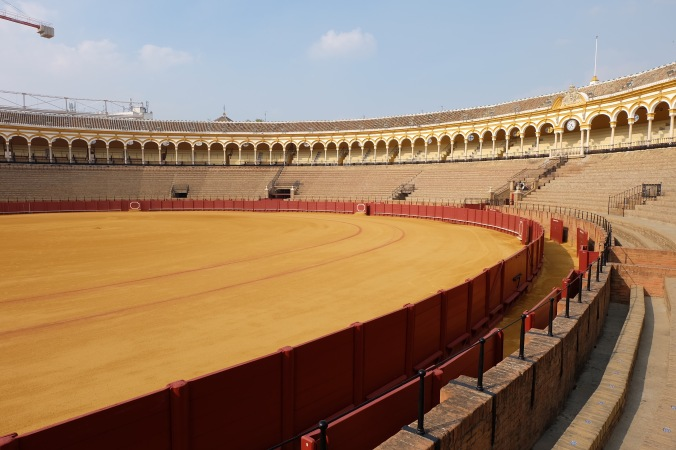 The bullring in Seville