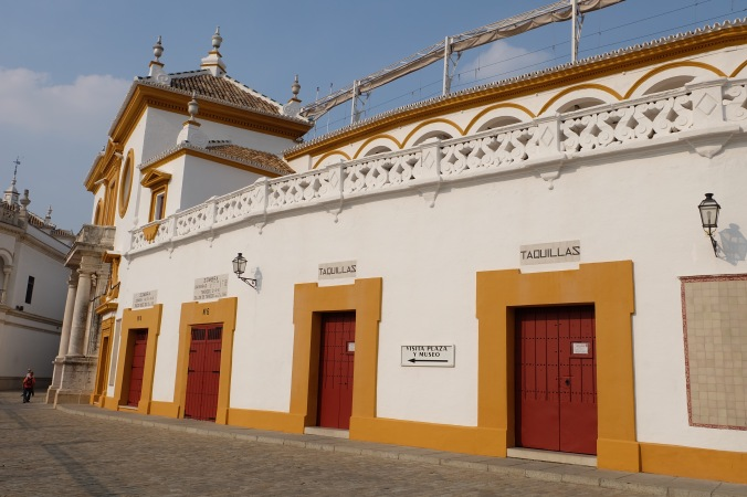 Plaza de Toros in Seville