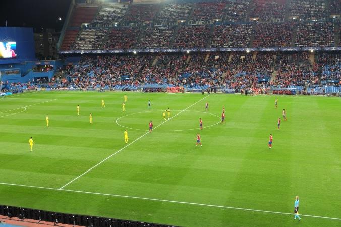 Opening kick: Atletico Madrid - FC Astana