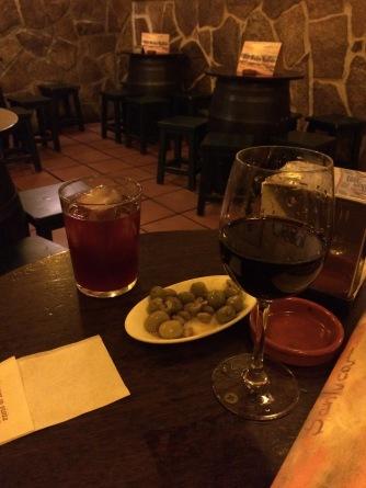 Drinks at Sanlúcar