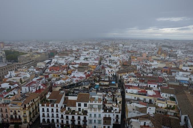 View from La Giralda, Seville