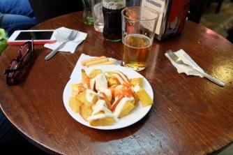 Bodega Santa Cruz - patatas bravas