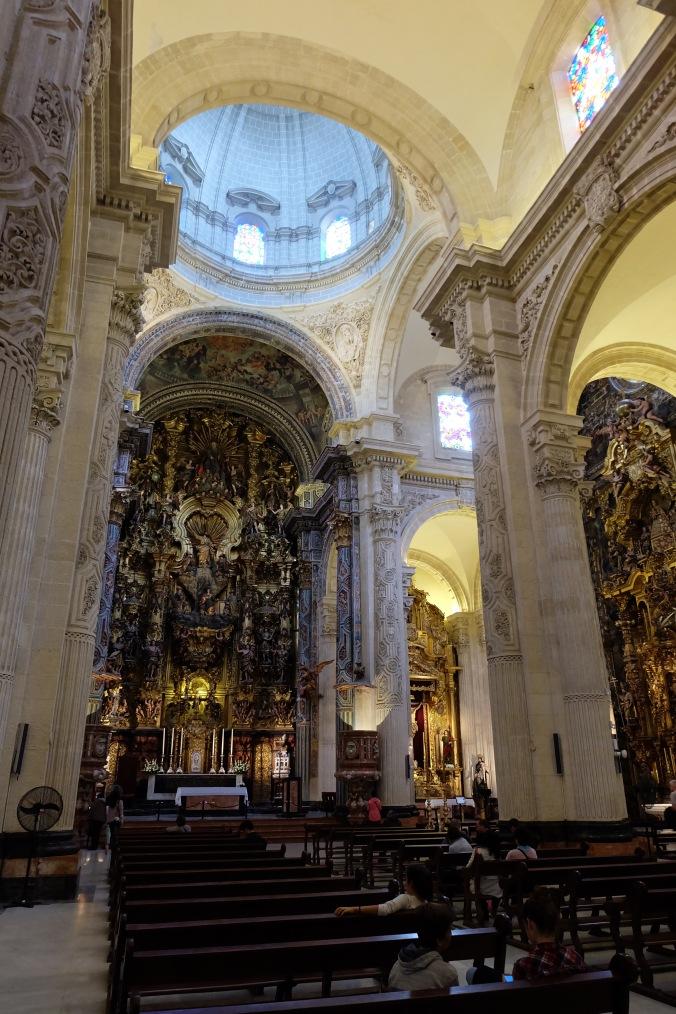 Inside Iglesia del Salvador