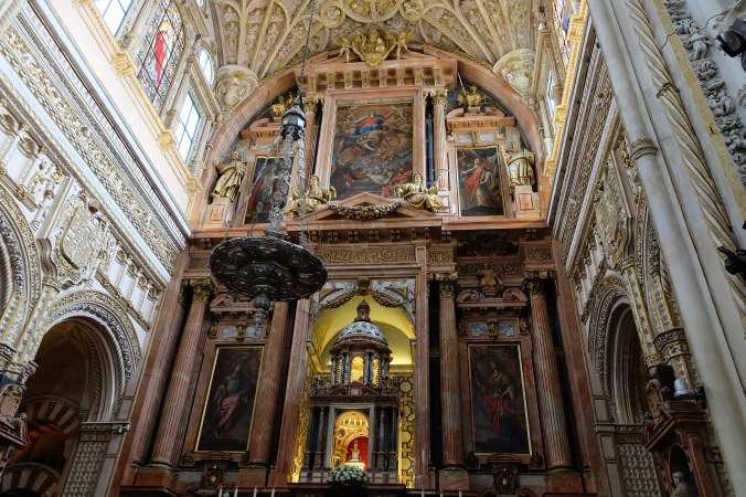 The Cathedral in Cordoba