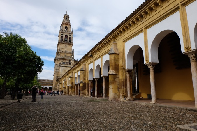 Inner courtyard of the Mezquita