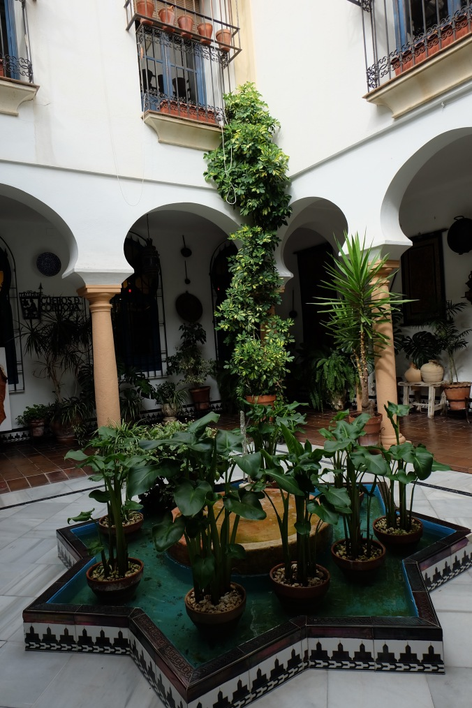 Traditional courtyard in Cordoba