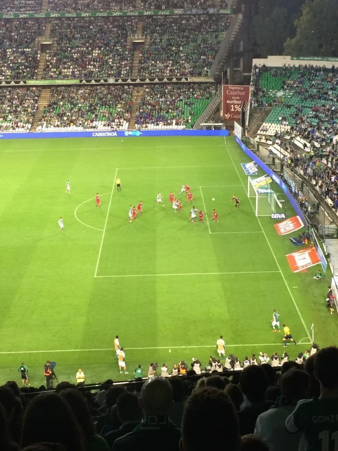 A near goal for Betis