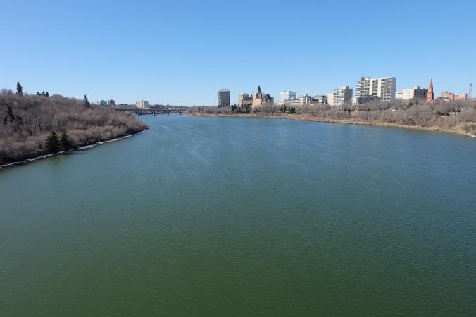 Saskatoon and the river