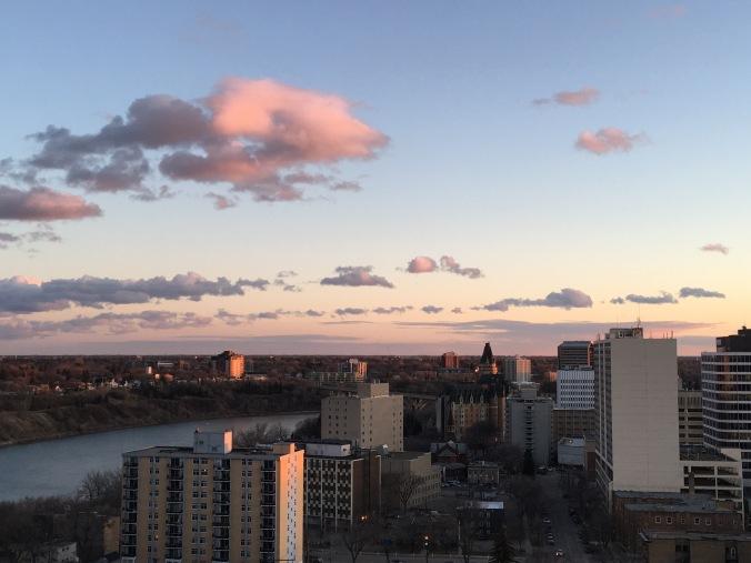Saskatoon from my apartment