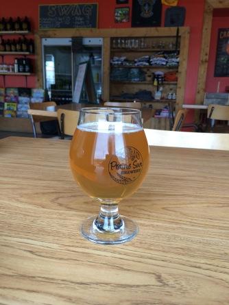 Prairie Sun Urban Wheat ale