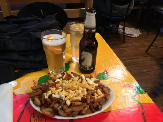 Poutine at La Banquise
