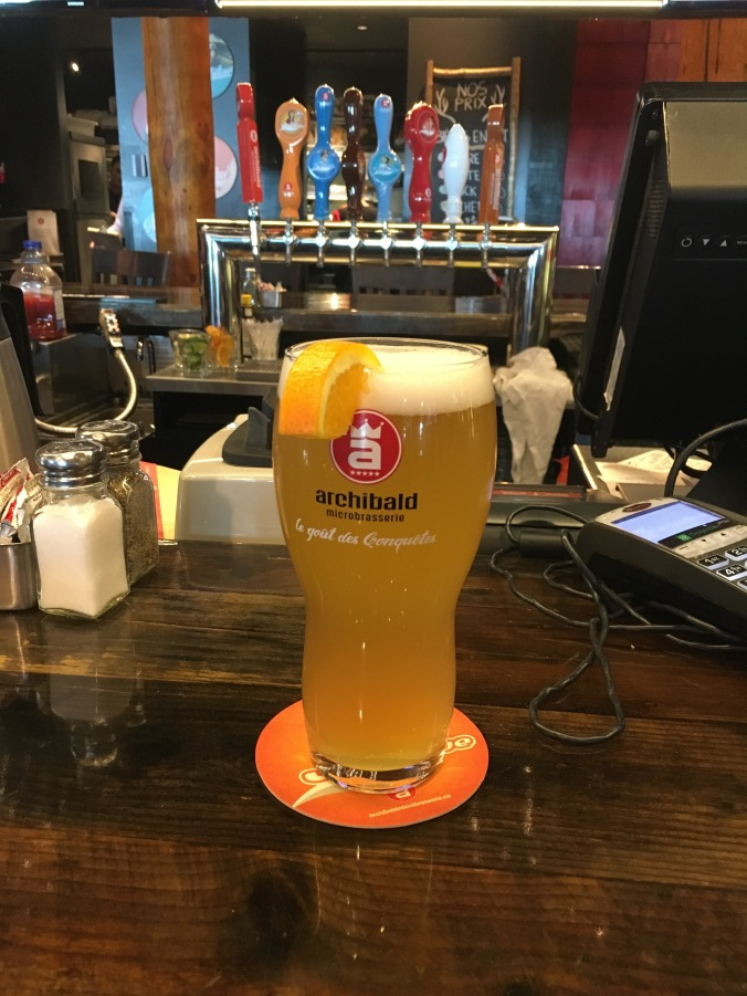 Airport witbier
