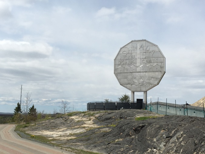 Giant nickel in Sudbury, ON