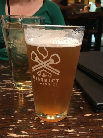 District wheat lager