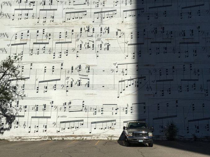 The Music Wall