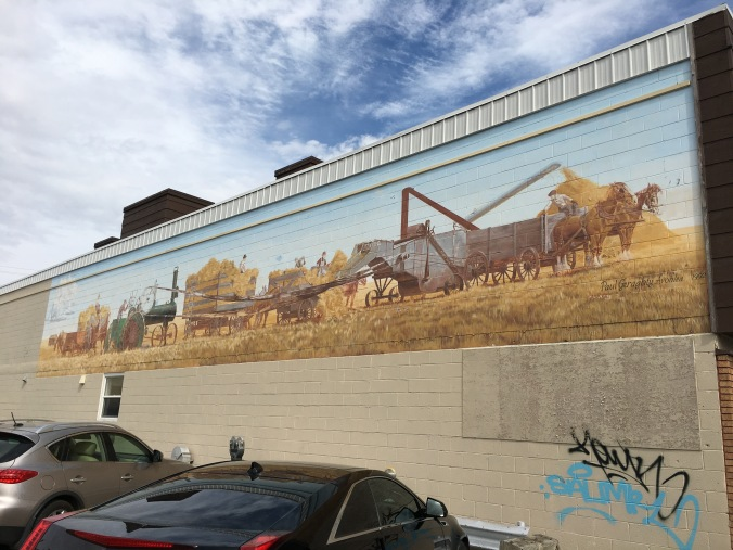 Mural in Moose Jaw