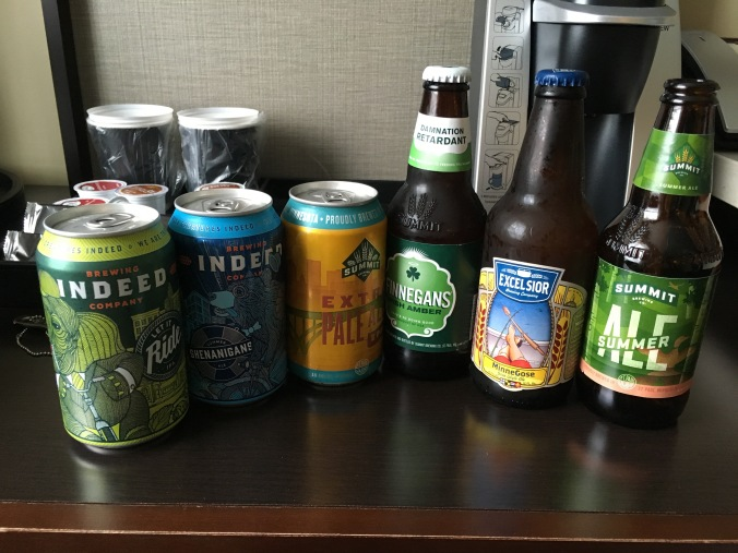 Hotel beers in Minneapolis