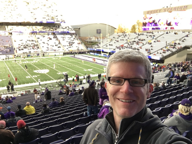 Me at Husky Stadium