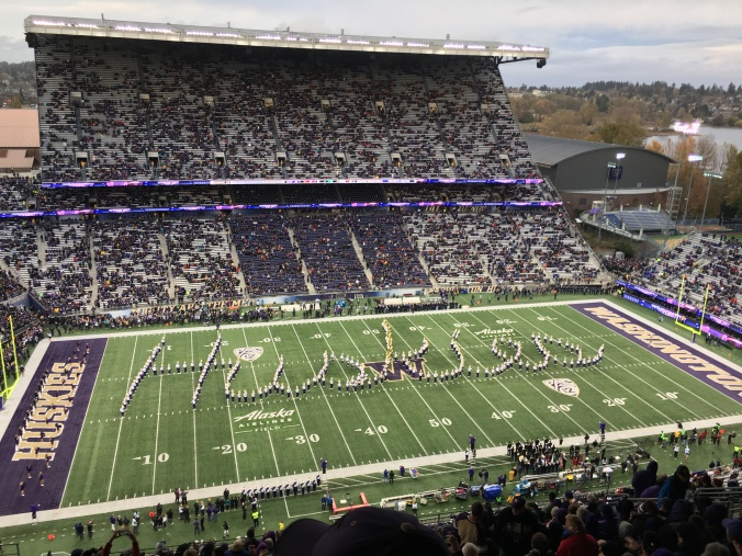 UW marching band