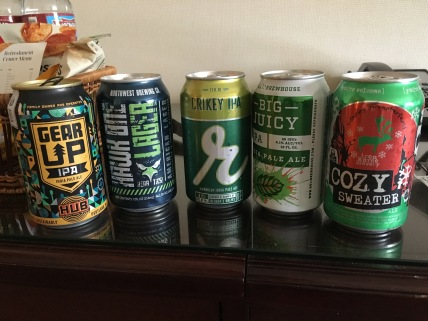 Washington State craft beers