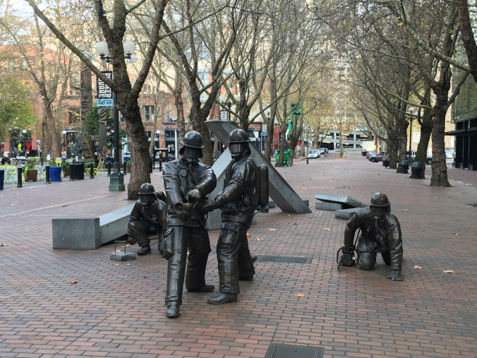 Fallen Firefighters Memorial in Seattle