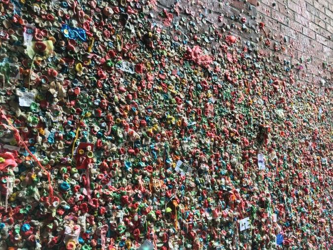 Gum Wall at Pike Place Market