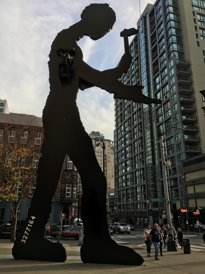 Hammering Man by Jonathan Borofsky