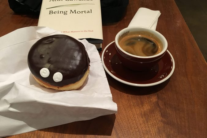 Stumptown Coffee and Voodoo Donut