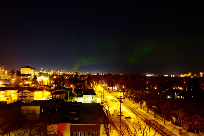 Northern Lights in Saskatoon