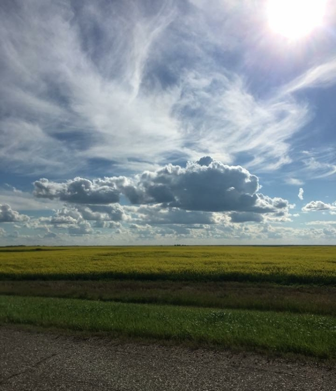 Between Regina and Saskatoon