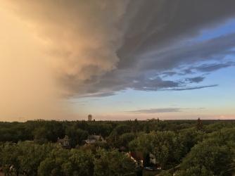 Storm over Saskatoon