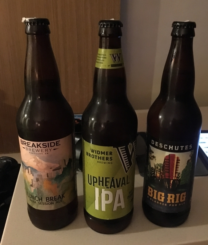Hotel beers in Portland