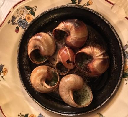 Snails at Chez Marcel