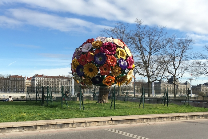 Flower Tree sculpture
