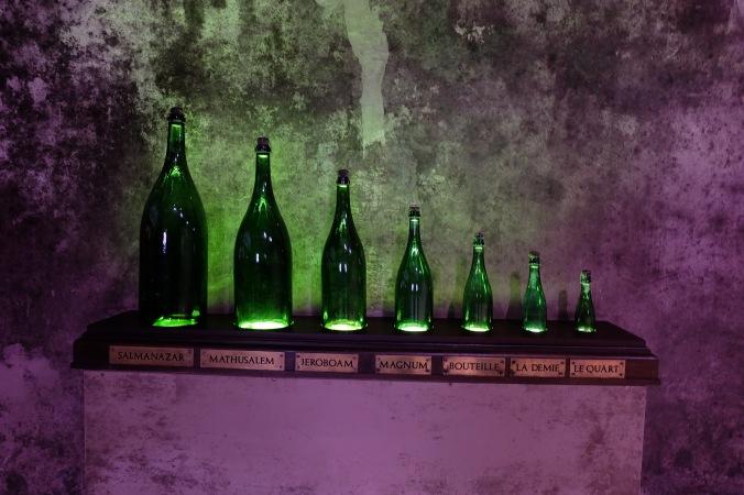 At Champagne Mumm, Reims