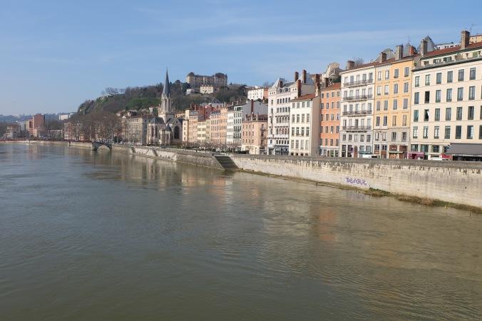 Vieux Lyon and the Saône