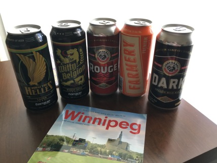 Manitoba craft beers