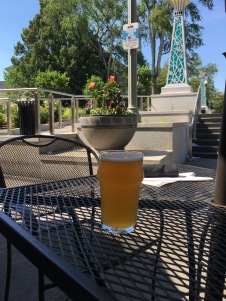 Patio time at the Square Pub in Decatur
