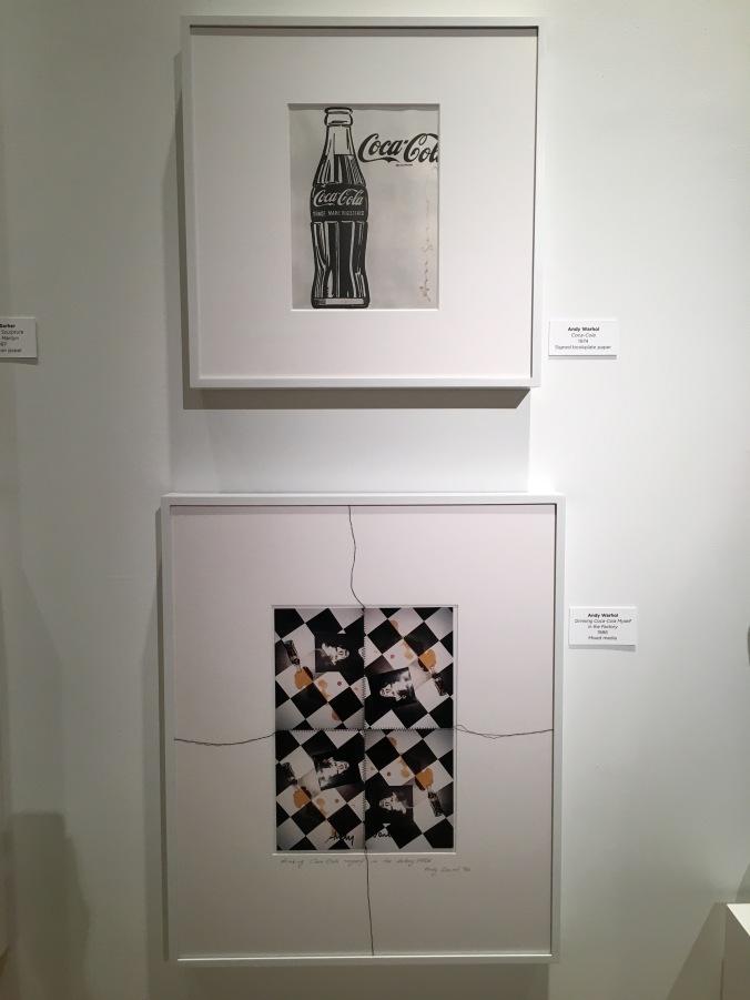 Andy Warhol prints at Coca-Cola