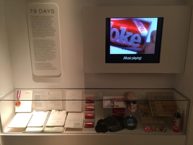 New Coke display