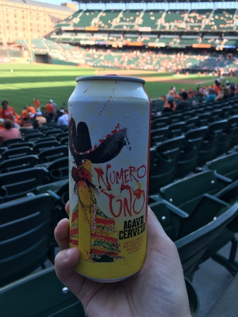 Craft beer at Camden Yards