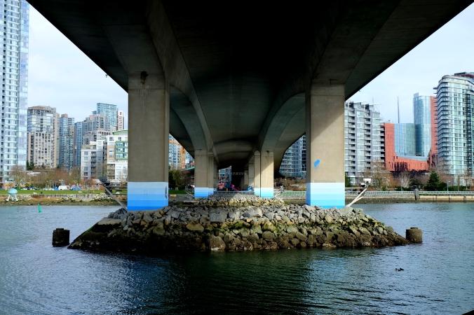 Cambie Street Bridge. Vancouver, BC